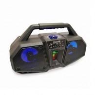 Колонка портативная ZQS-4216 (Bluetooth/USB /microSD/FM/дисплей/подсв черная