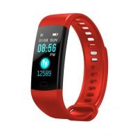 Фитнес-браслет Y5 (Красный) с измерением давления