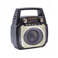 Радиоприемник MD- 508 (FM/BT/220V) серебро