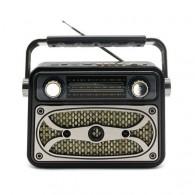 Радиоприемник М-183ВТ (Bluetooth/USB/microSD/Fm/AUX/акб) черный Meier