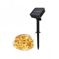 Светильник садовый Фаzа SLR-G03-100Y (гирлянда-нить, желтая) 100 диодов