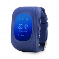 Smart-часы Q50 Hello детские с GPS трекером синие