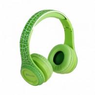 Наушники-плеер Eltronic 4457 (microSD, Bluetooth) с микр. полноразм.зеленые