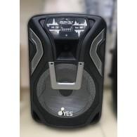 """Колонка портативная 15"""" BPY6500 (Bluetooth/USB /microSD/FM/ПДУ/2 пров.микр) чер"""