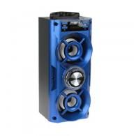 Колонка портативная MS-105BT-А (Bluetooth/USB /SD/FM) синяя