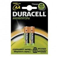 Аккумулятор Duracell R6 1300NiMH BL 2/20