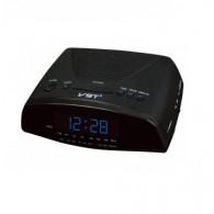 Часы настольные VST-905-5 син.цифры+радио (220V)