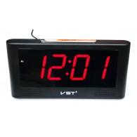 Часы электронные 732-1 (USB+2*ААА, крас.цифры)