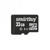 Карта памяти microSDHC SmartBuy 32Gb Class 10 UHS-l без адаптеров