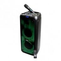 """Колонка портативная 8"""" Dialog AO-200 (Bluetooth/USB /microSD/микроф) черная"""