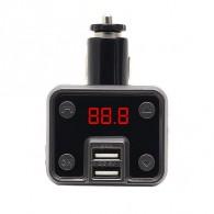MP3 FM модулятор автомоб. KTS KCB-910 (Bluetooth, USB)