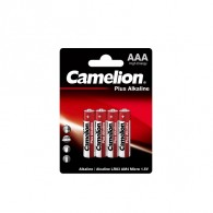 Батарейка Camelion LR03 Plus Alkaline BL 4/48