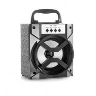 Колонка портативная MS-134BT (Bluetooth/USB /SD/FM/дисплей) черная