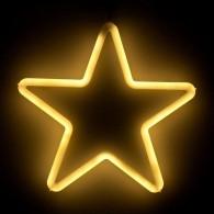 """Фигура светод. """"Звезда"""" 28х28х2см, тепл.белая (5060083)"""