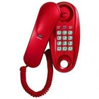 Телефон проводной Supra STL-112 красный