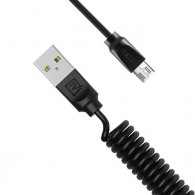 Кабель Am - microUSB Remax Radiance Pro Data Cable 1м витой (RC-117m)