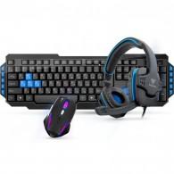 Комплект Gamdias клавиатура+мышь+наушники GM- GKS100 игровая (3 в 1)