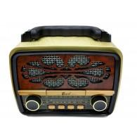 Радиоприемник EPE FP-231 (Bluetooth/USB /microSD/FM) золото