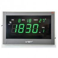 Часы электронные 771 (220V+2*ААА, зел.цифры)