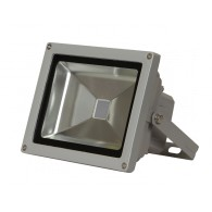 Прожектор светодиодный Jazzway PFL -10W RGB-RC/GR цветной с пультом