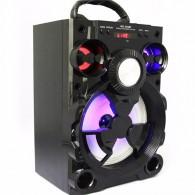 Колонка портативная MS-185BT (Bluetooth/USB /SD/FM/дисплей) черная