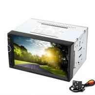 "Автомагнитола 2 дин 7"" (AVI,MP3, bluetooth, microSD) 8001"