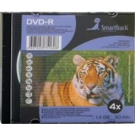 SmartTrack DVD-R 8cm 1,4 Gb 4x Slim