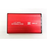 Корпус для жесткого диска 2.5'' (USB 2.0) метал