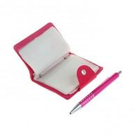 """Подарочный набор (ручка+визитница""""Розовая пастила"""") (1124072)"""
