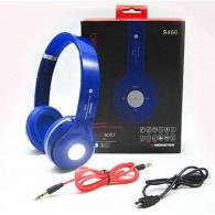 Наушники-плеер S460 синие (Fm, microSD,Bluetooth)