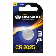 Батарейка Daewoo CR 2025 BL-1/20