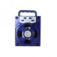 Колонка портативная KTS-1018D (USB\microSD\Bluetooth) синяя