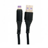Кабель USB- iPhone5 Lace 3A 1м