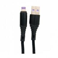 Кабель USB- lightning Lace 3A 1м