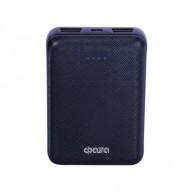 Внешний аккумулятор 10000mAh ФАZA PB-10 2*USB, индикатор заряда, синий