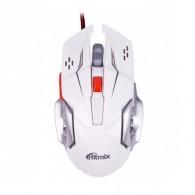 Мышь Ritmix ROM-355 USB игровая белая