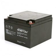 Аккумулятор для бесперебойника Robiton 12V 26Ah