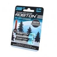 Аккумулятор Robiton R6 2000 BL2 (низкотемпературные, до -40С)