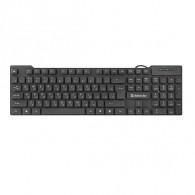 Клавиатура Defender HB-190 черная USB /20 (45191)
