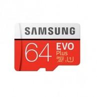 Карта памяти microSDHC Samsung 64Gb Class10 Evo Plus U1 с адапт