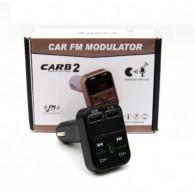 MP3 FM модулятор автомоб. CARB2 (Bluetooth, USB)