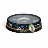 TDK DVD-R 4.7Gb 16x Cake box /10