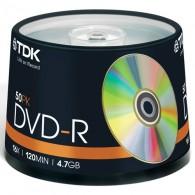 TDK DVD-R 4.7Gb 16x Cake box /50