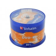 Verbatim DVD-R 4.7Gb 16x Cake box /50