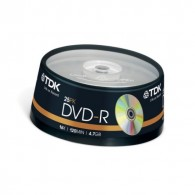 TDK DVD-R 4.7Gb 16x Cake box /25