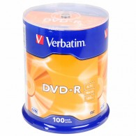 Verbatim DVD-R 4.7Gb 16x Cake box /100