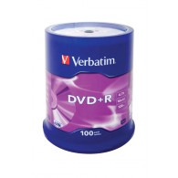 Verbatim DVD+R 4.7Gb 16x Cake box /100