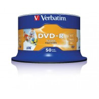 Verbatim DVD-R 4.7Gb 16x Cake box /50 Printable