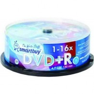 SmartBuy DVD+R 4.7Gb 16x Cake box /25