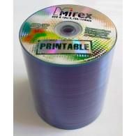 Mirex DVD-R 4,7Gb 16x Bulk /100 PRINT